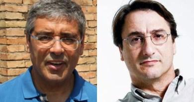 Toto Cuffaro e Claudio Fava