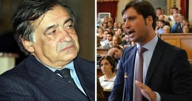 Leoluca Orlando e Fabrizio Ferrandelli