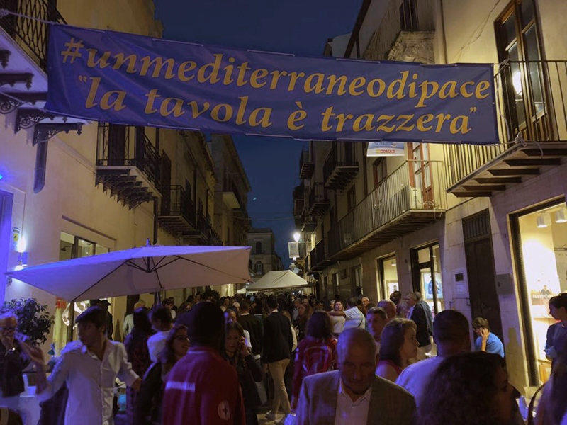 Alcamo, un Mediterraneo di pace - La tavola è trazzera