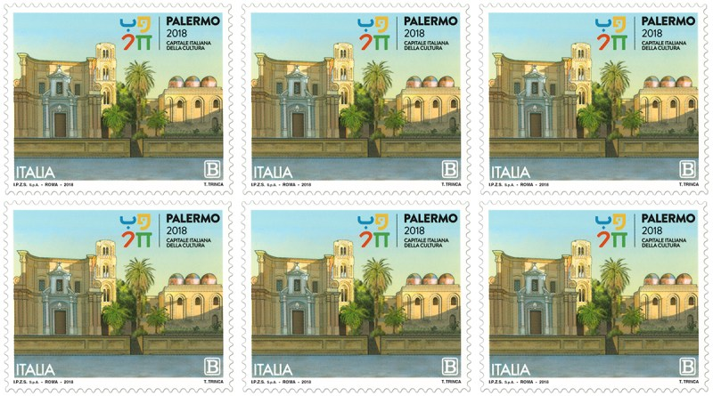 Francobollo Palermo capitale italiana della cultura