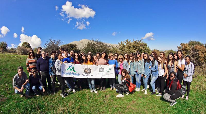 Studenti nel Parco delle Madonie