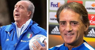 Gian Piero Ventura e Roberto Mancini