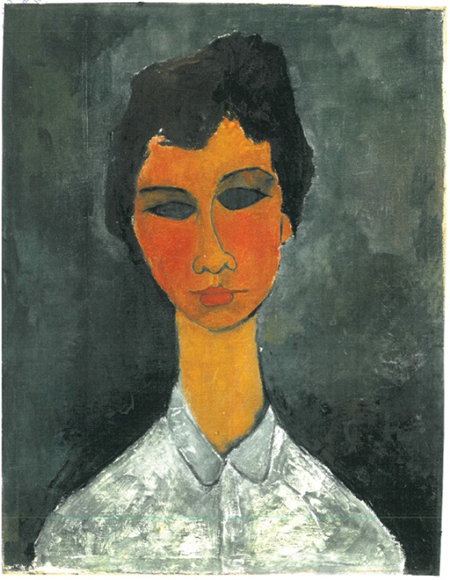 Hannelore, di Amedeo Modigliani