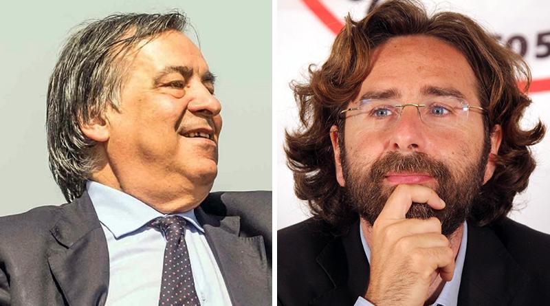 Leoluca Orlando e Ugo Forello
