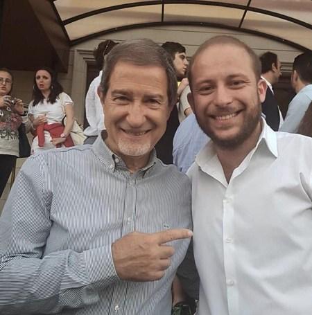 Nello Musumeci e Domenico Bonanno