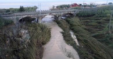 La foce del fiume Milicia, a Casteldaccia (Palermo)
