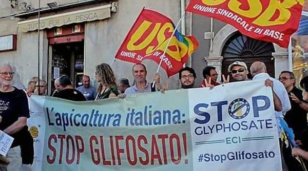 Usb, manifestazione stop glifosato
