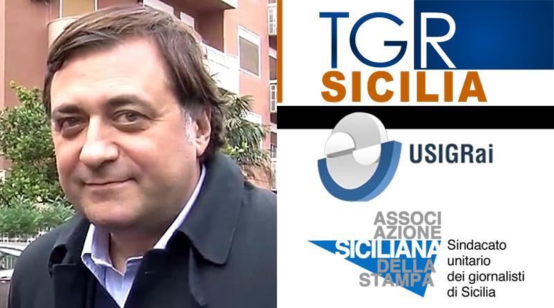 Francesco Scoma, TGr Sicilia, Usigrai, Assostampa
