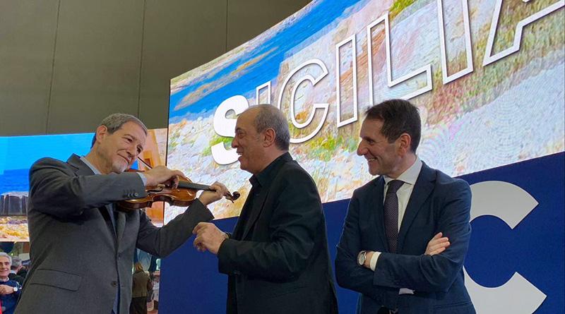Musumeci allo stand Sicilia del Bit 2019