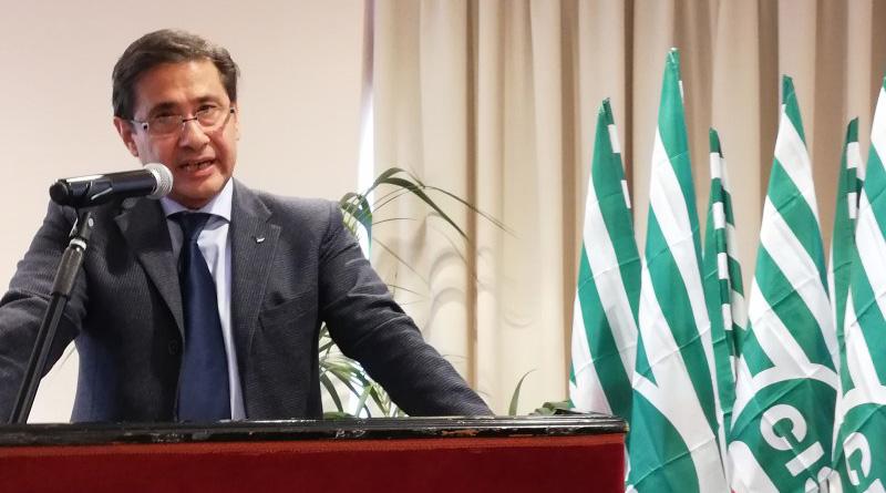 Sebastiano Cappuccio, segretario generale Cisl Sicilia