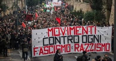 Manifestazione contro razzismo e fascismo