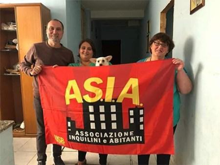 Asia Usb contro sfratto inquilini