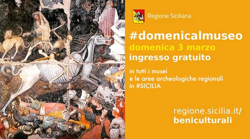 musei gratis prima domenica del mese in Sicilia