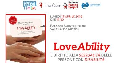 Loveability, sessualità disabili