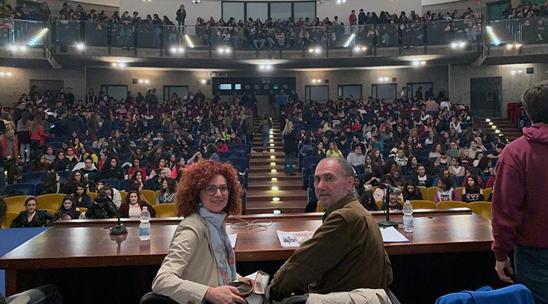 Assemblea studenti sulla mafia, liceo Giuseppe Lombardo Radice di Catania - Le Ciminiere
