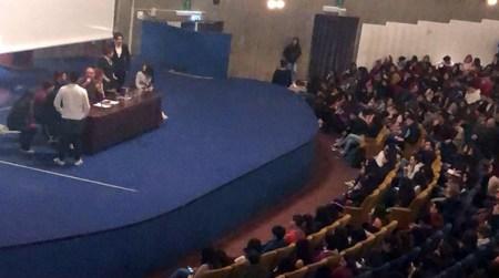 Assemblea studenti sulla mafia, liceo Giuseppe Lombardo Radice di Catania