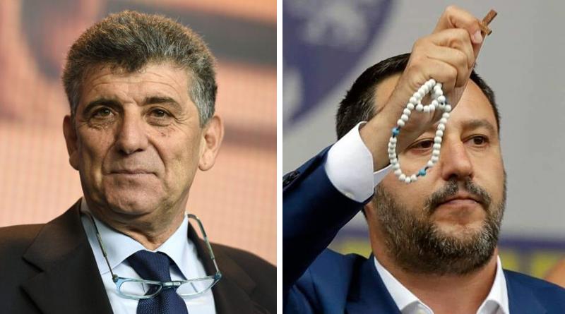 Pietro Bartolo e Matteo Salvini
