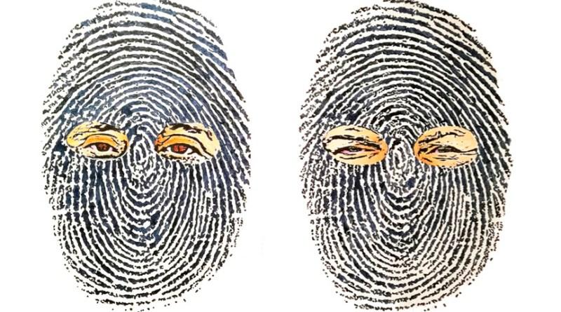 Double Identity, dipinto di Dragan Spasic