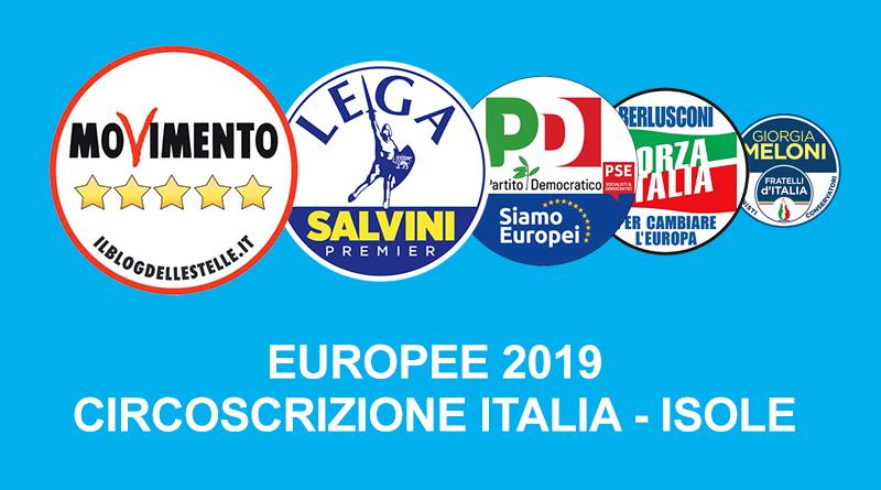 Vincitori elezione europee 2019