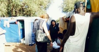 Usb a baraccoboli di Cassibile