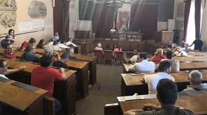 Lavoratori Reset occupano sala Consiglio comunale di Palermo