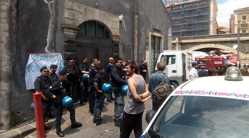 Sgombero CPO Colapesce Catania