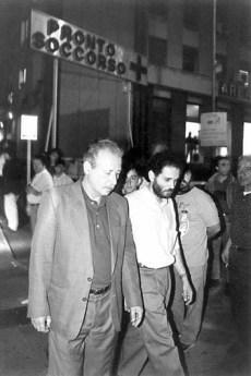Paolo Borsellino e Antonio Ingroia