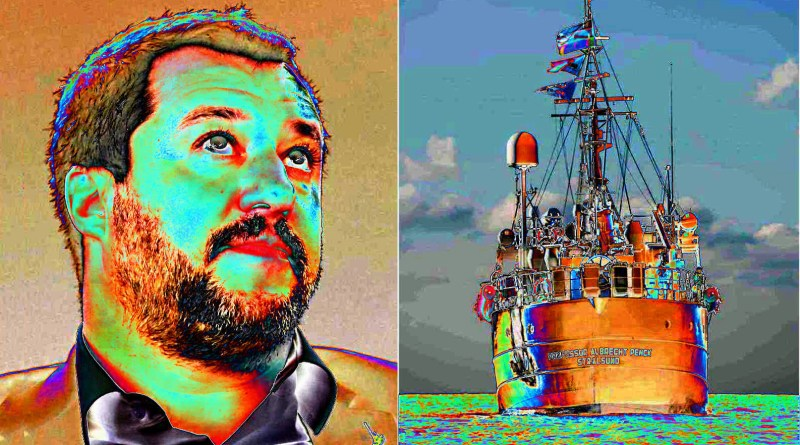 salvini vs Sea Eye