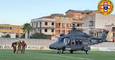 soccorso alpino elicottero aereonautica militare