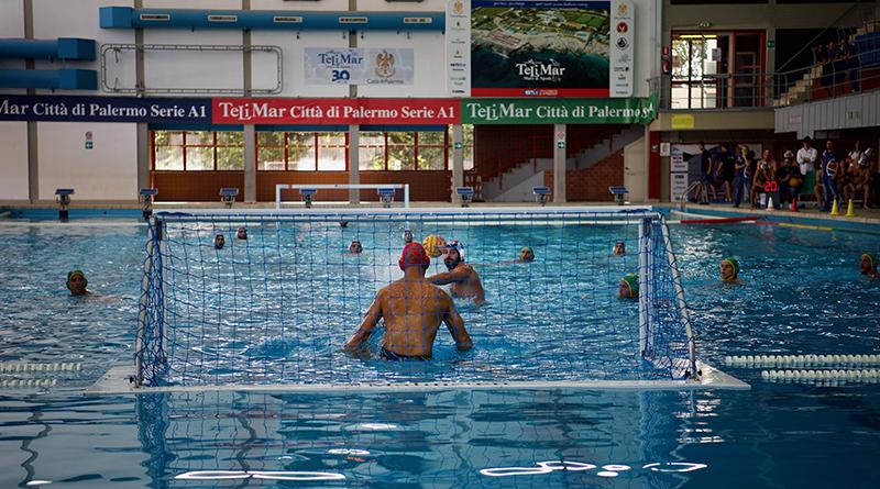 Pallanuoto Telimar Palermo, piscina comunale di Palermo