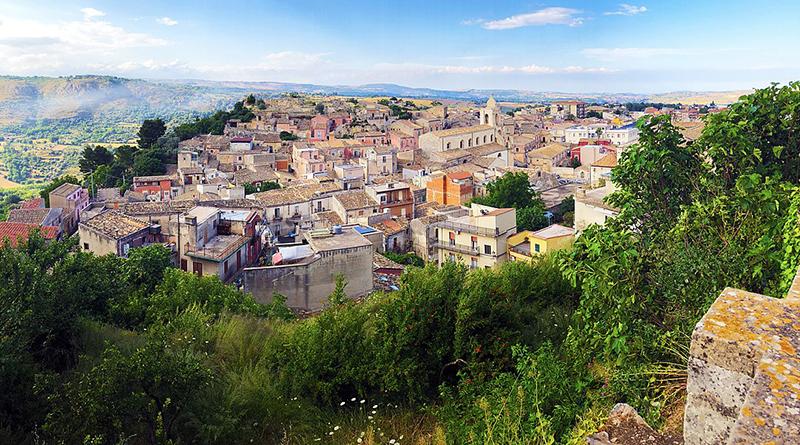 Panorama di Palazzolo Acreide (SR)