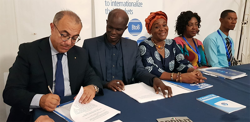 Blue Sea Land Sottoscrizione accordo Ghana