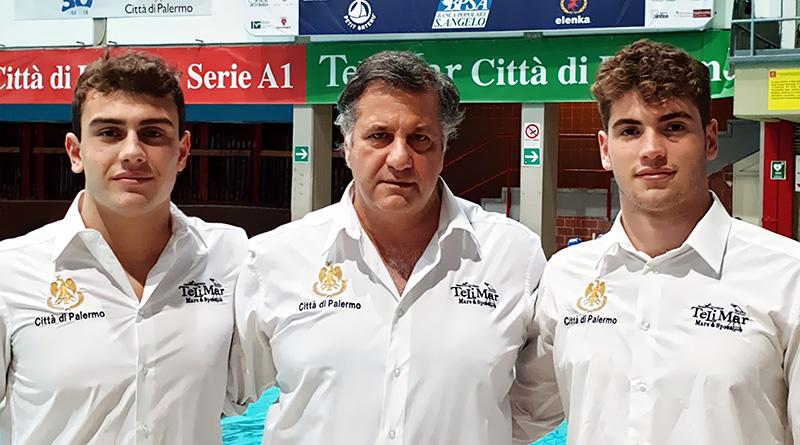 Davide Occhione, Marcello Giliberti, Andrea Giliberti