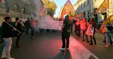 Manifestazione operai ILVA