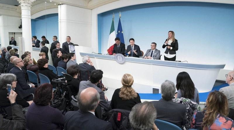 Incontro Intergruppo parlamentare disabilità