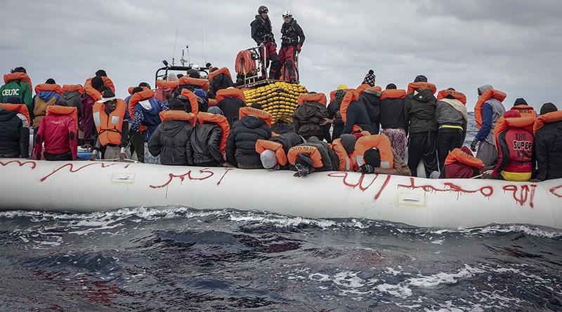 Migranti Libia Ocean Viking