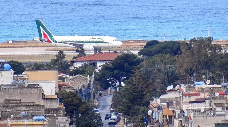 Cinisi, aeroporto di Punta Raisi