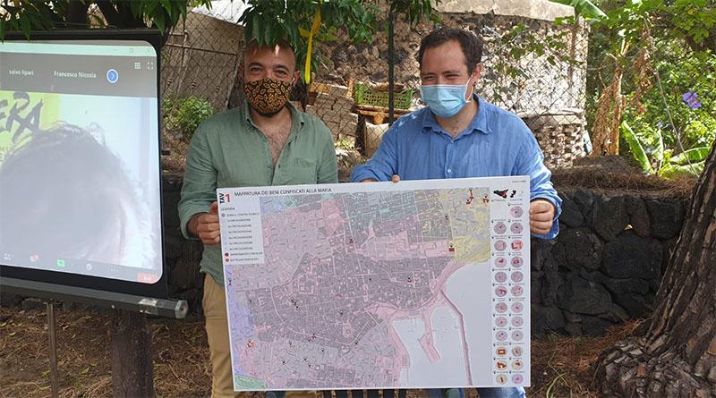 catania, mappa dei beni confiscati alla mafia