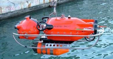 mezzo sottomarino filoguidato da esplorazione della Marina Militare