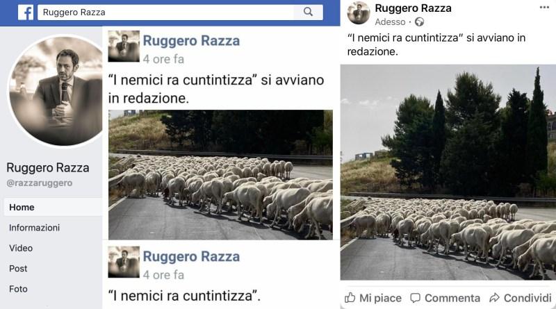 Ruggero Razza contro i giornalisti
