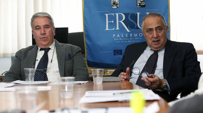Giuseppe Di Miceli e Roberto Lagalla