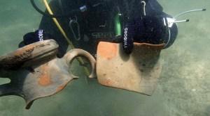 Archeologia subacquea, nave oneraria ritrovate a Marausa, Trapani