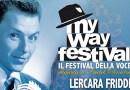 """Sicilia punta su Frank Sinatra e il """"My Way Festival""""di Lercara Friddi che celebra le origini familiari di """"The Voice"""""""
