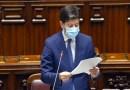 Il ministro della Salute, Roberto Speranza, alla Camera dei Deputati