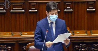Il ministro Speranza spiega i criteri di assegnazione delle regioni nelle tre aree di rischio Covid
