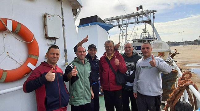 Pescatori rilasciati in Libia