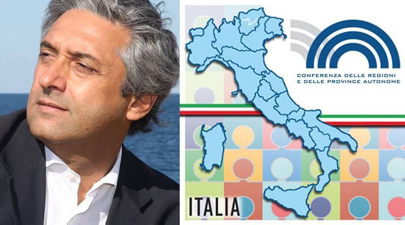 Toni Scilla, Conferenza Regioni