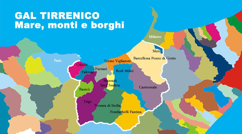 Comuni GAL Tirrenico (Messina)