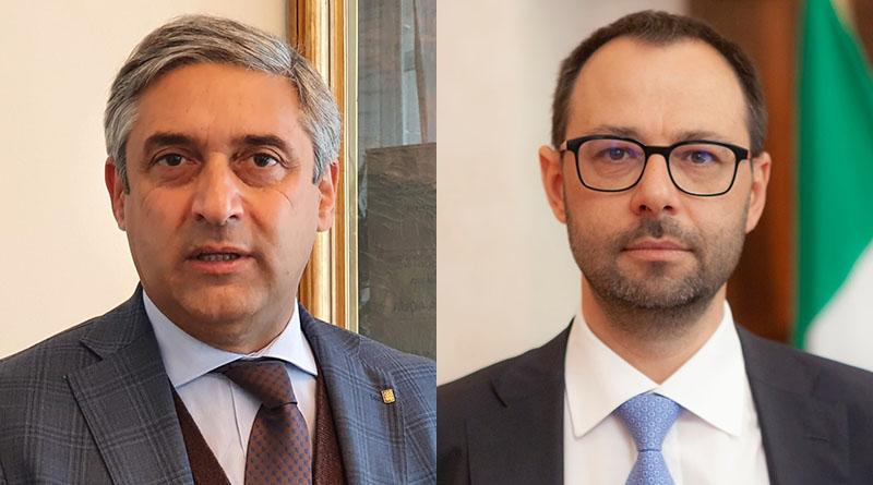 Toni Scilla e Stefano Patuanelli