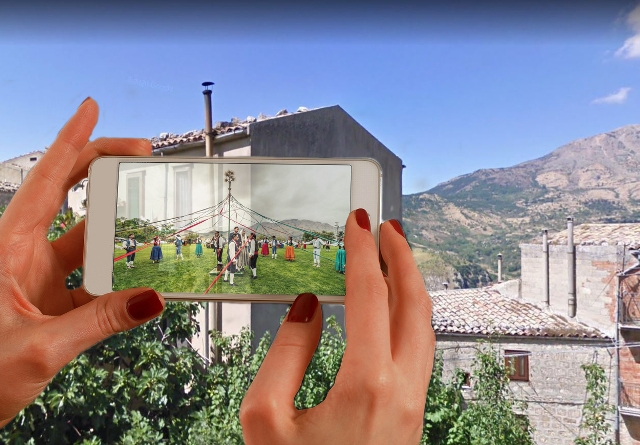 I Art, realtà virtuale Petralia